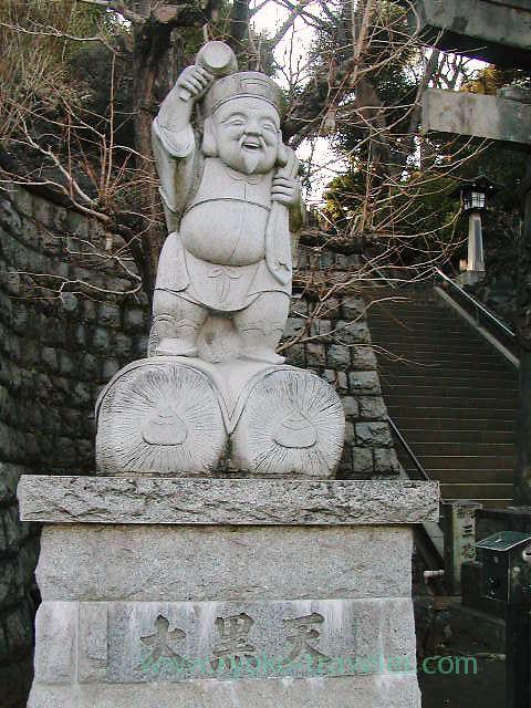 Daikokuten, Shinagawa Jinja shrine (Kita Shinagawa)