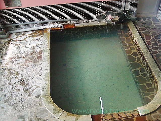 Indoor bath, Ohyu, Kawarayu onsen (Kusatu & kawarayu 2011)