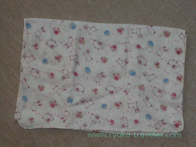 Tenuguis rabbit pattern (Kusatsu & Kawarayu2011)