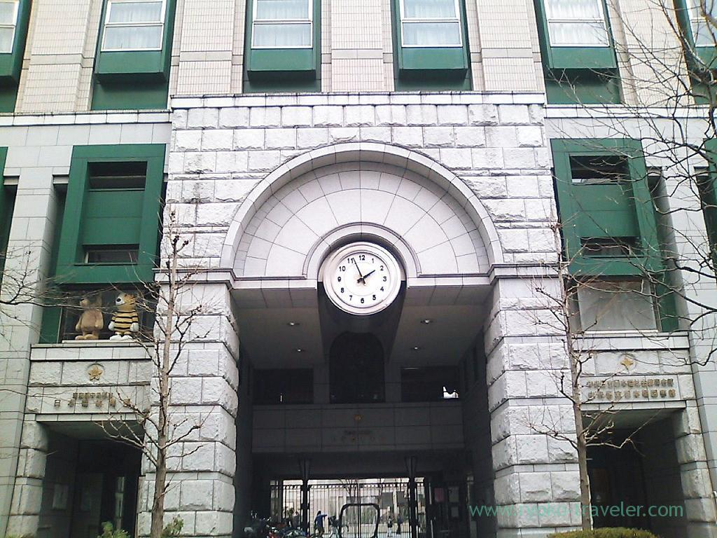 Entrance of Nihonbashi elementary school (Nihonbashi)