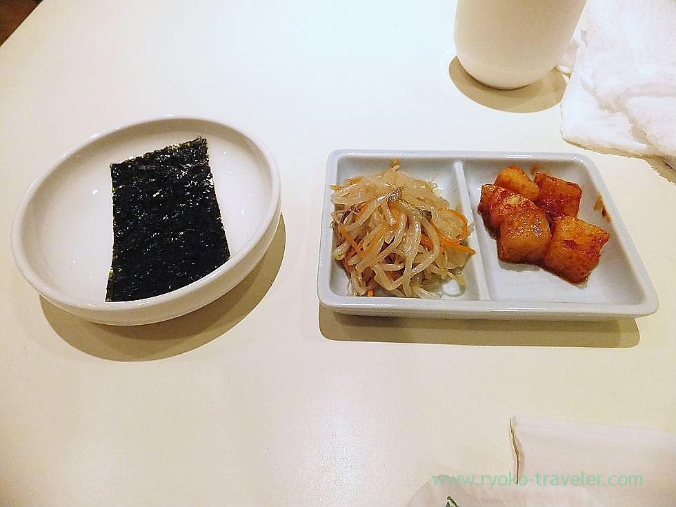 Namul and seaweed, Chegoya Funabashi Tobu branch (Funabashi)