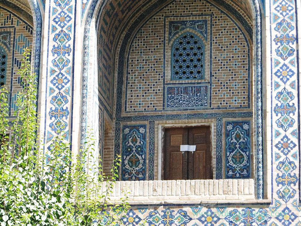 Window 2nd floors, Ulugh beg madrasa, Samarquand (Uzbekistan trip 2011)