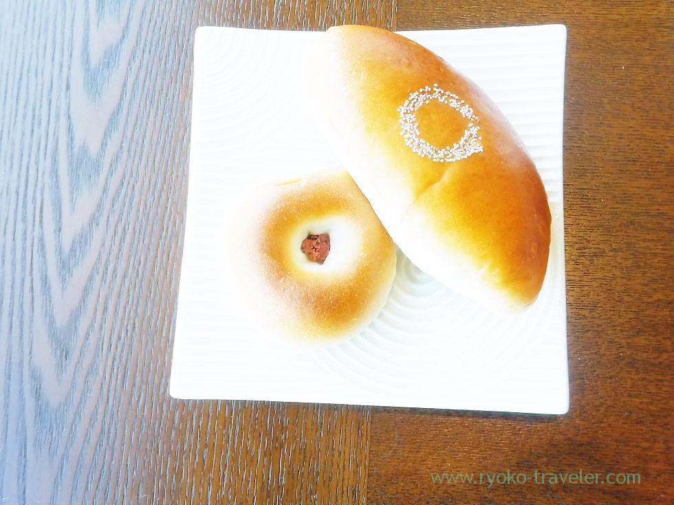 Anpan bought at Kimuraya, Peninsula Tokyo (Yurakucho)