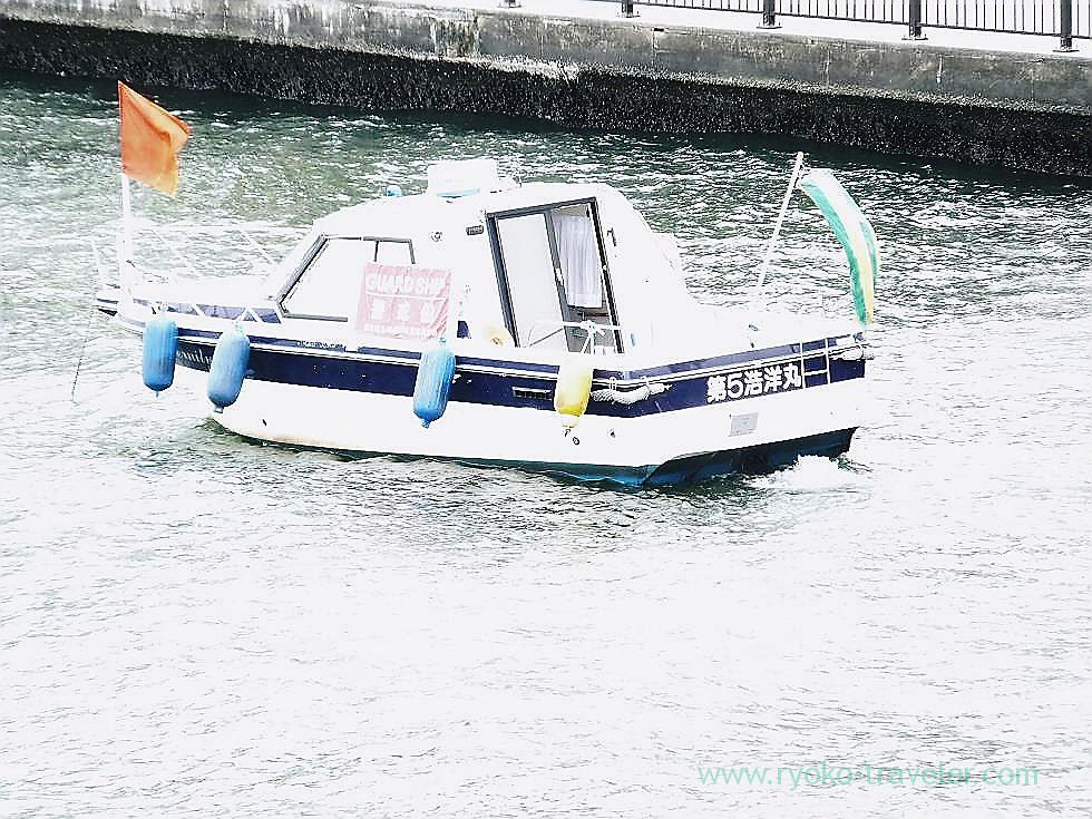 Boat, Kachidoki bridge (Kachidoki)