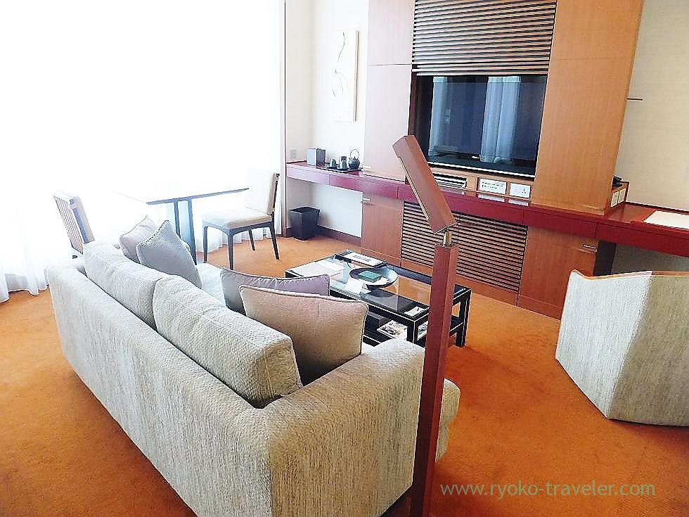 Living room 2, Peninsula Tokyo (Yurakucho)