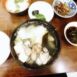 Tsukiji : Kaki dofu at Kato