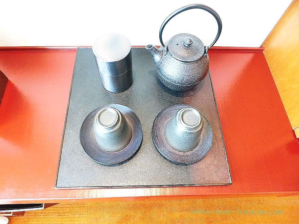 Tea set, Peninsula Tokyo (Yurakucho)