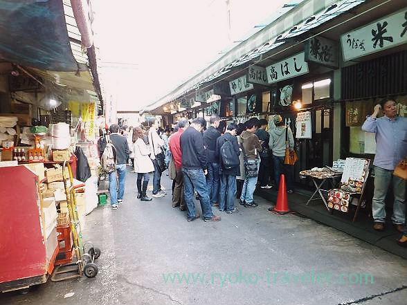 Tsukiji Market on Saturdays 2, Tsukiji Market