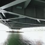 Kachidoki : Under Kachidoki bridge