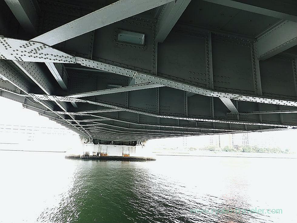 Under Kachidoki bridge 1, Kachidoki bridge (Kachidoki)