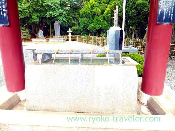 Cyozuya, Chiba-ken Gokoku-jinja Shrine (Shin-Chiba)