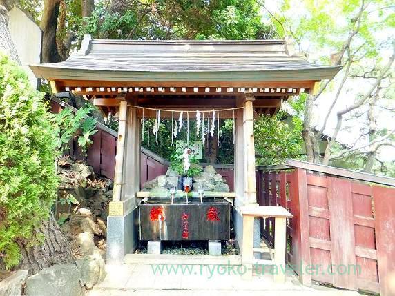 Cyozuya, Towatari Jinja shrine (Shin-Chiba)