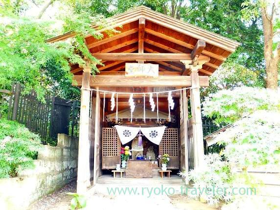 Daishido, Towatari Jinja shrine (Shin-Chiba)