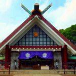 Shin-Chiba : Towatari Jinja shrine and Chiba-ken Gokoku-jinja shrine