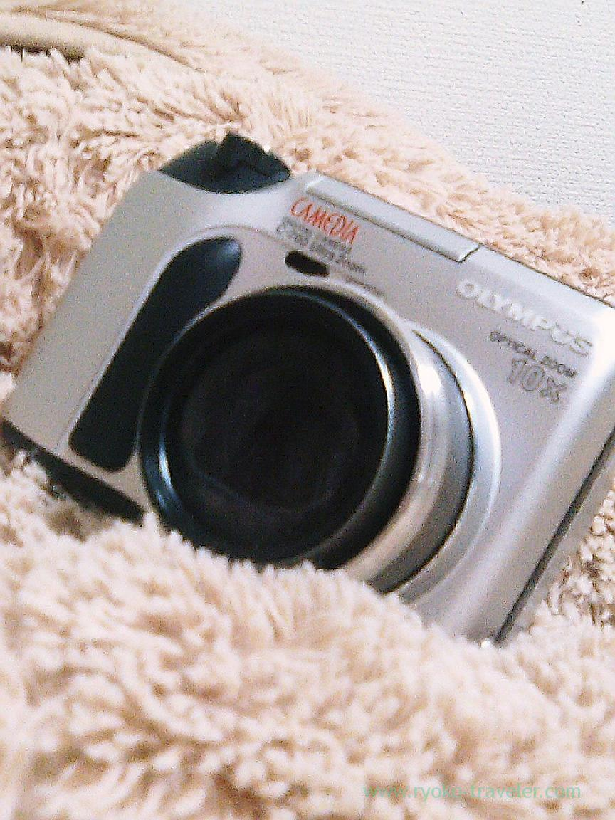 My first digital camera, Olympus camedia