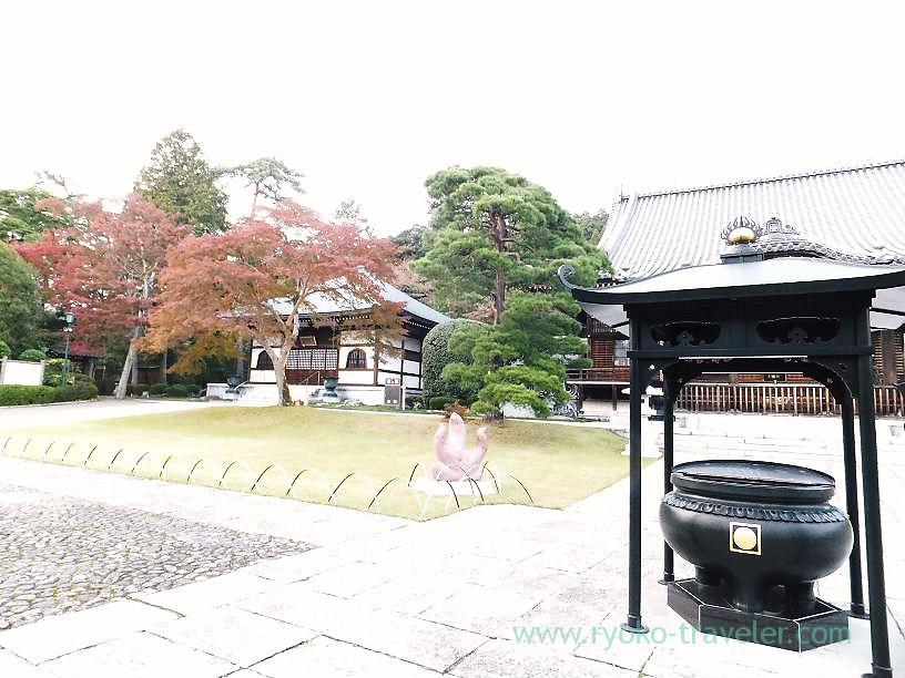 Site, Noninji temple (Hanno)