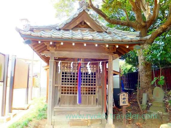 Sui-Jinja shrine, Towatari Jinja shrine (Shin-Chiba)