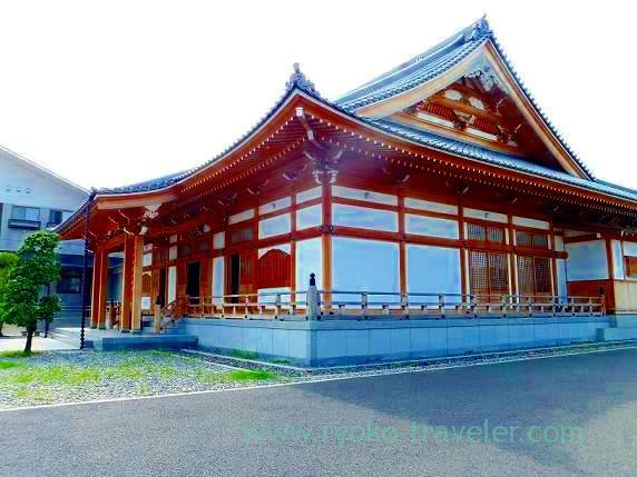Worship hall, Soinji temple (Shin-chiba)