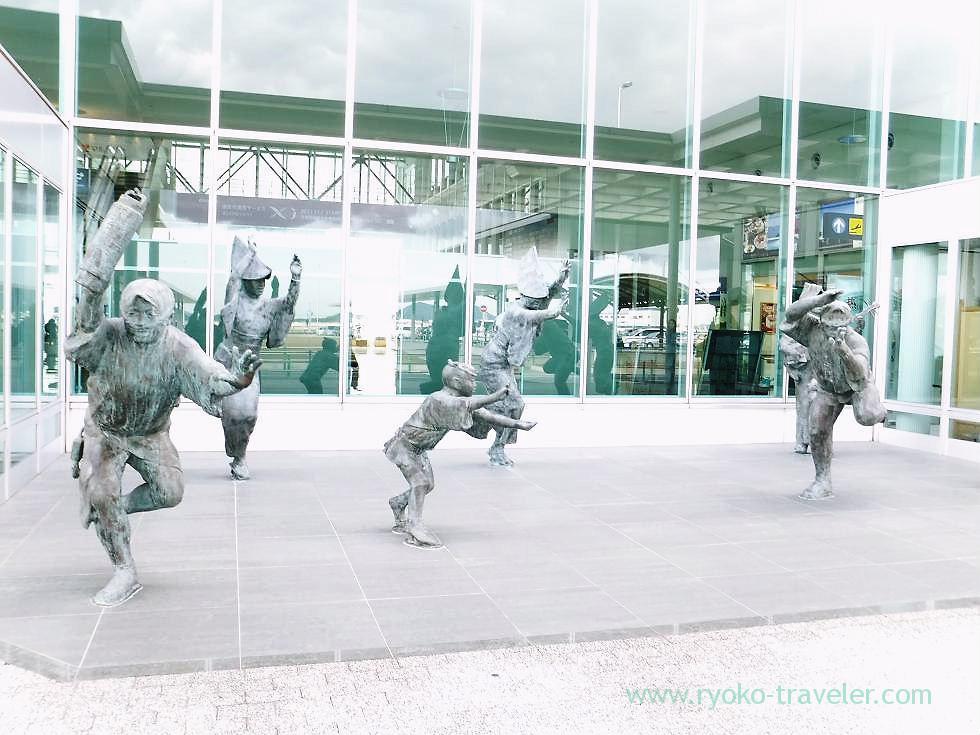 Awa odori object, Awa odori airport (Tokushima & Kagawa 2011)
