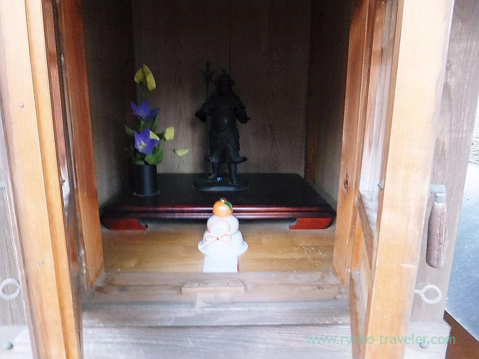 Bishamonten3, Saiko-ji temple, Narashino Shichifukujin2012 (Tsudanuma)