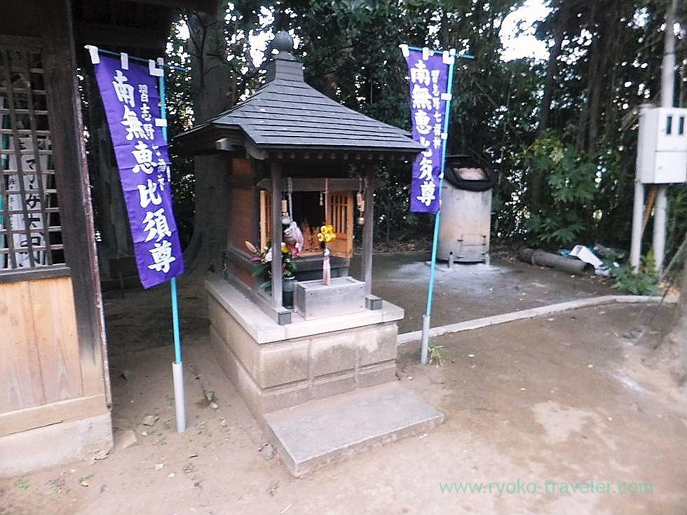 Ebisu here, Tofukuji temple , Narashino Shichifukujin2012 (Tsudanuma)