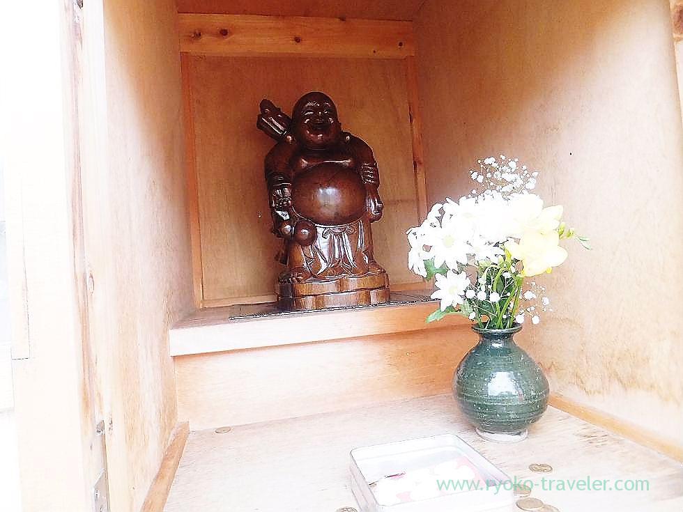 Hotei, Shofuku-ji, Narashino Shichifukujin (Keisei-Okubo)