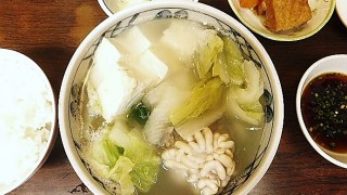 Tsukiji Market : Soft roe hotpot at Katou