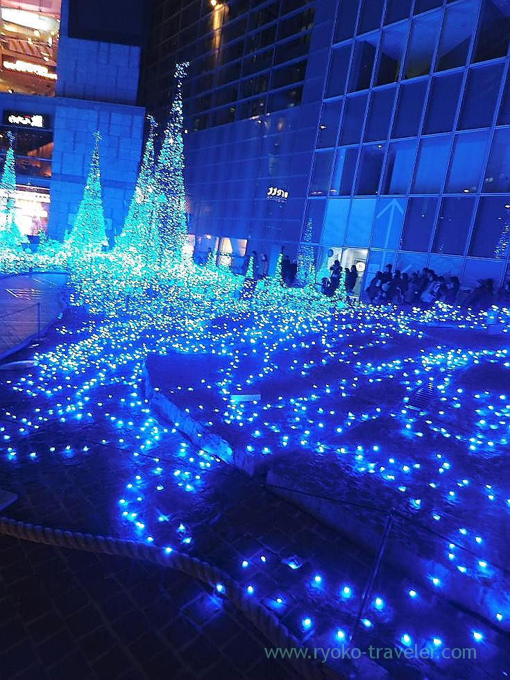Illumination1, Caretta Shiodome(Shiodome)