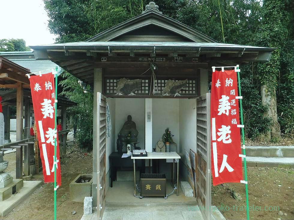 Jyurojin here, Muryo-ji temple, Narashino Shichifukujin2012 (Mimomi)