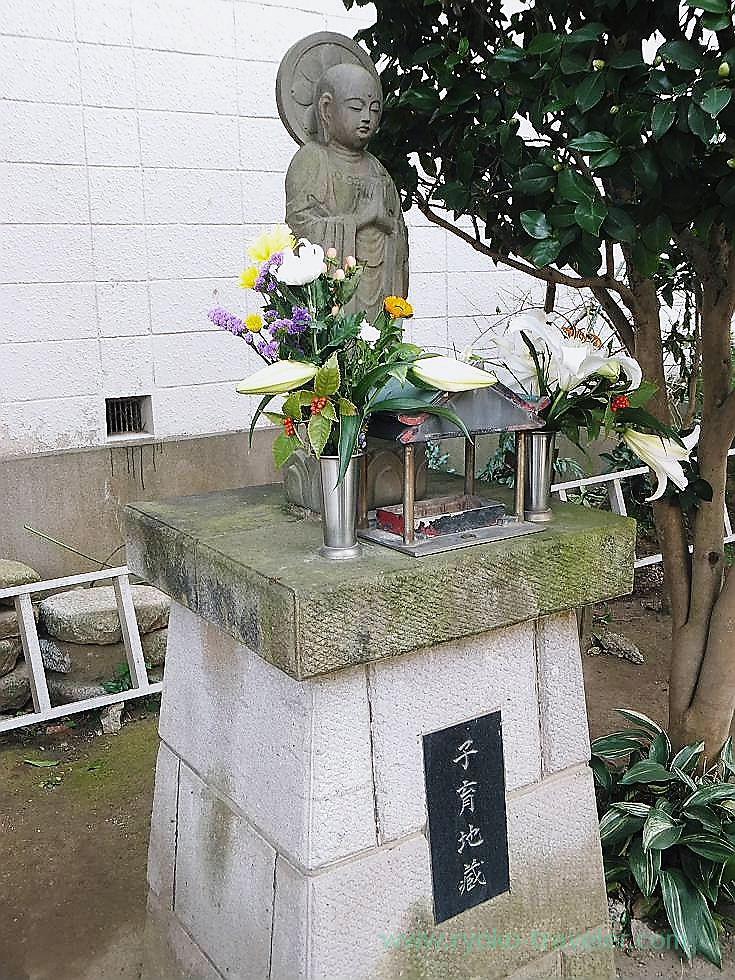 Kosodate Jizo, Yakushi-ji temple, Narashino Shichifukujin2012 (Keisei Okubo)