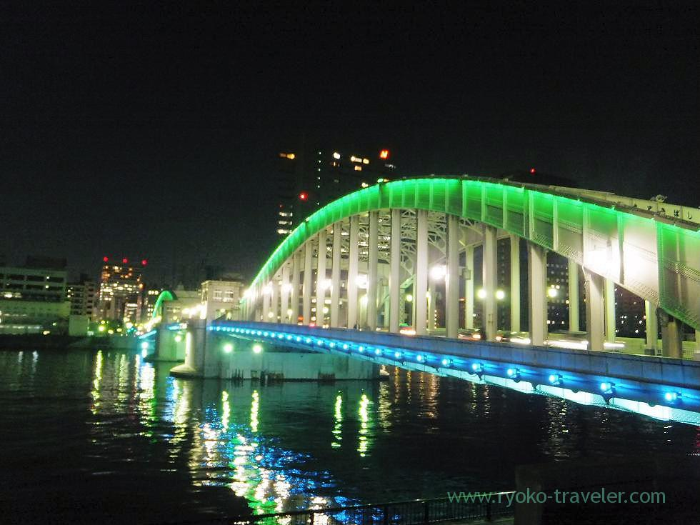 Lightup Kachidoki bridge (Kachidoki)