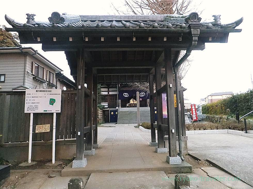 Main entrance, Tofukuji temple , Narashino Shichifukujin2012 (Tsudanuma)