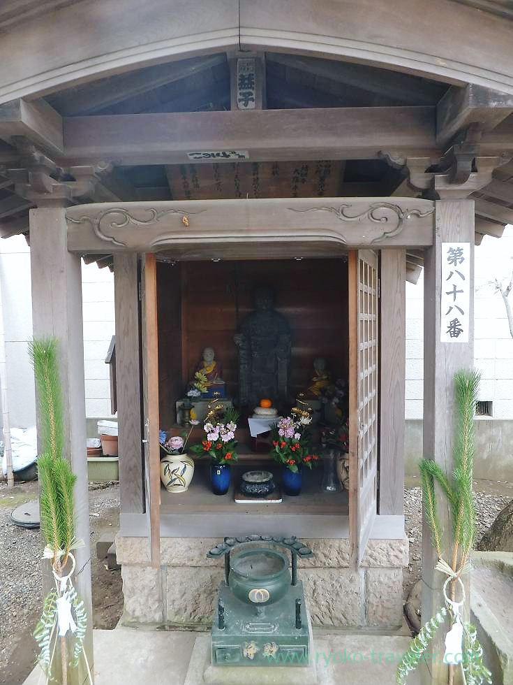 No.88, Yakushi-ji temple, Narashino Shichifukujin2012 (Keisei Okubo)