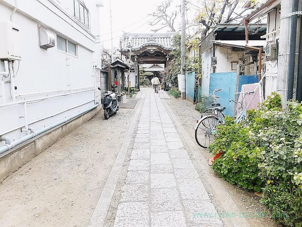 Promnade, Yakushi-ji temple, Narashino Shichifukujin2012 (Keisei Okubo)