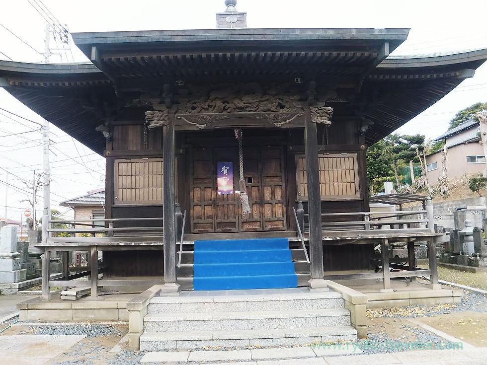 Sho Kannon-do hall, Shofuku-ji, Narashino Shichifukujin 2012 (Keisei-Okubo)