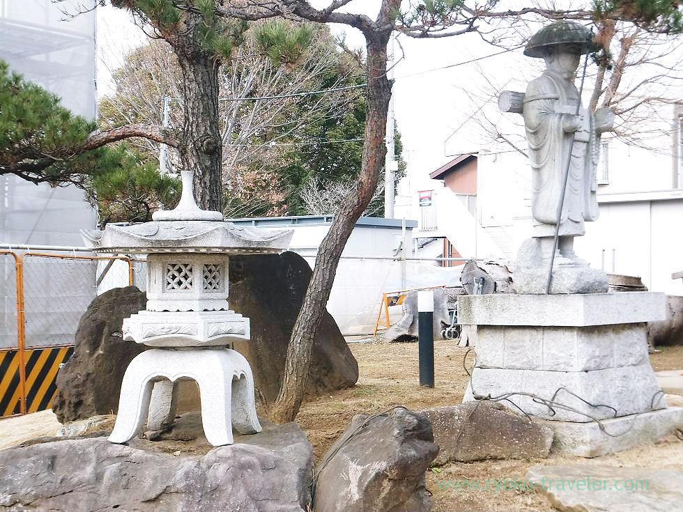 Under construction, Shofuku-ji, Narashino Shichifukujin 2012 (Keisei-Okubo)