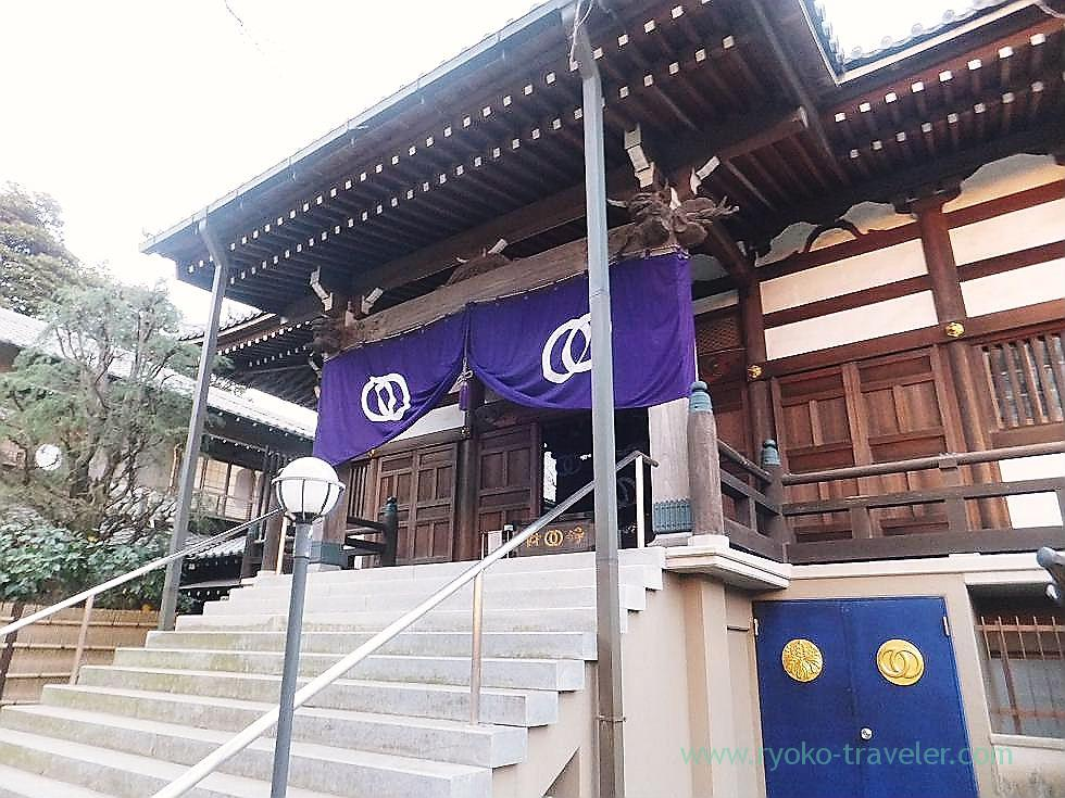 Worship hall 1, Tofukuji temple , Narashino Shichifukujin2012 (Tsudanuma)