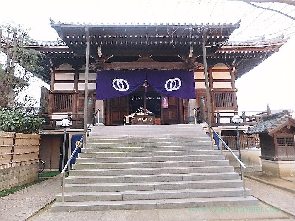 Worship hall 2, Tofukuji temple , Narashino Shichifukujin2012 (Tsudanuma)