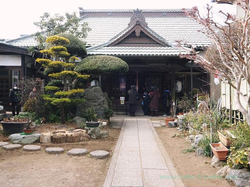 Worship hall, Yakushi-ji temple, Narashino Shichifukujin2012 (Keisei Okubo)