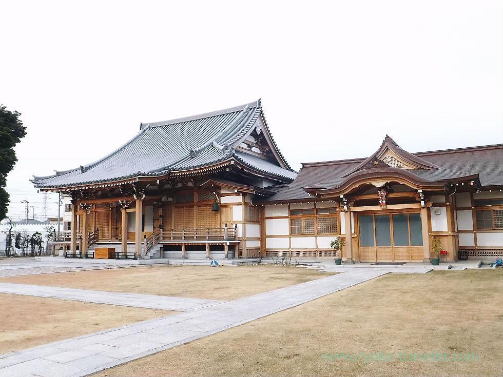 Worship hall1, Muryo-ji temple, Narashino Shichifukujin2012 (Mimomi)
