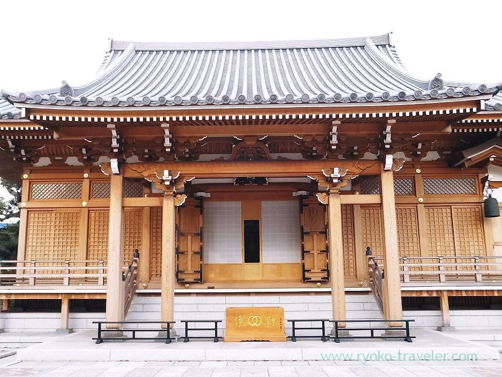 Worship hall2, Muryo-ji temple, Narashino Shichifukujin2012 (Mimomi)