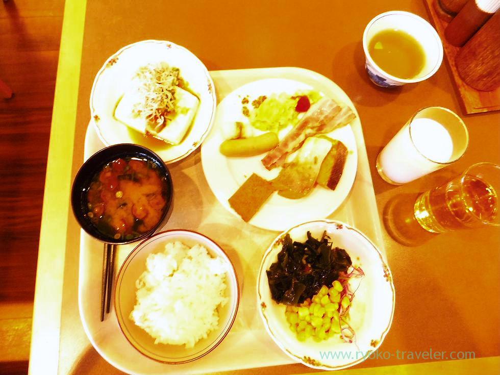 Breakfast 1, Tokushima Tokyu INN (Tokushima and kagawa 2011)