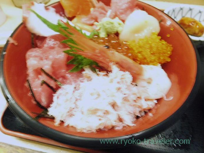 Seafood bowl, Nakaya (Tsukiji Market)