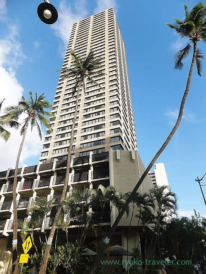 Appearance, Hotel Maile sky court, Honolulu(Honolulu 2012 winter)