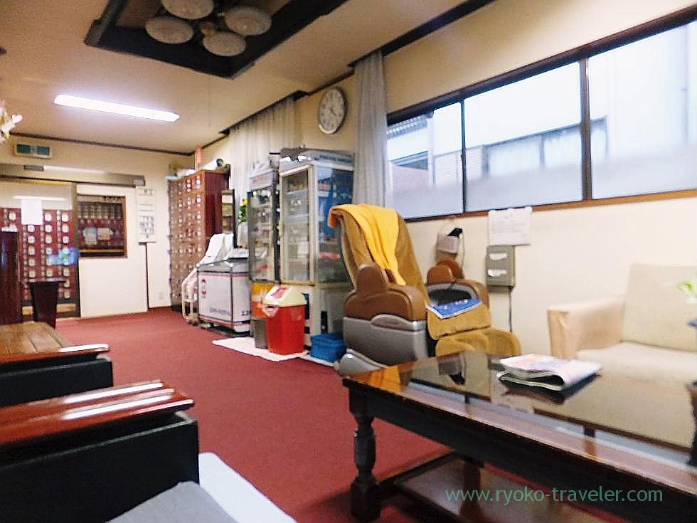 Dressing room, Daini Hisanoyu (Nishi-Ojima)
