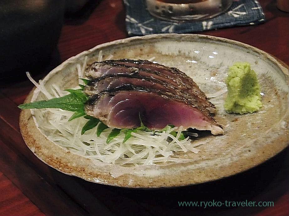 Grilled mackerel, Yamadaya (Tsukiji)