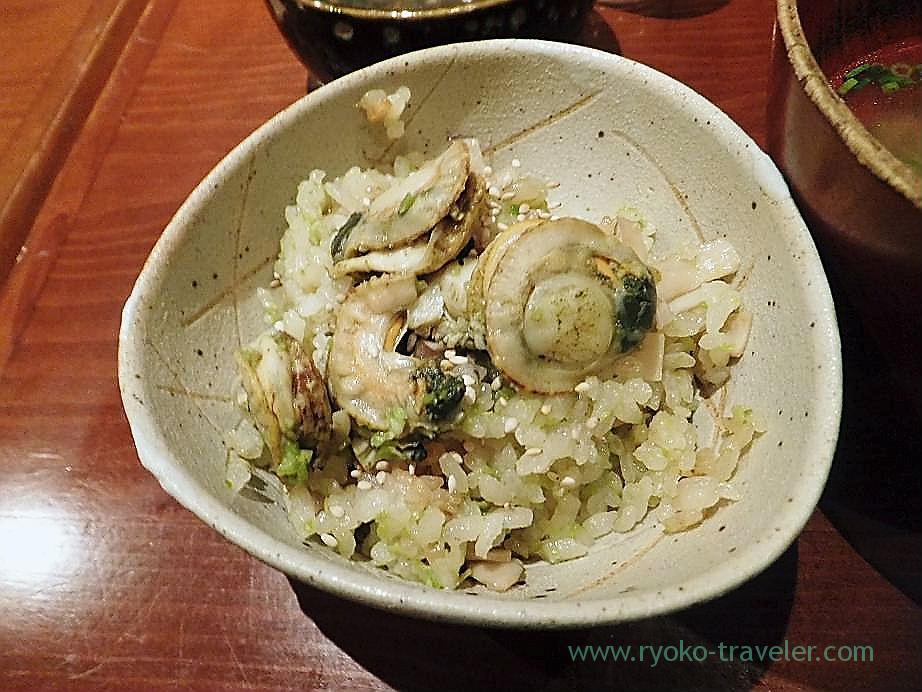 Scallop rice, Yamadaya (Tsukiji)