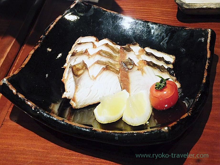 Smoked Spanish mackerel, Yamadaya (Tsukiji)