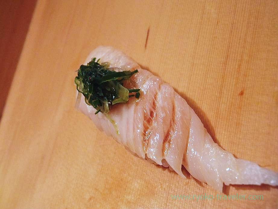 Spanish mackerel, Sushidai (Tsukiji Market)