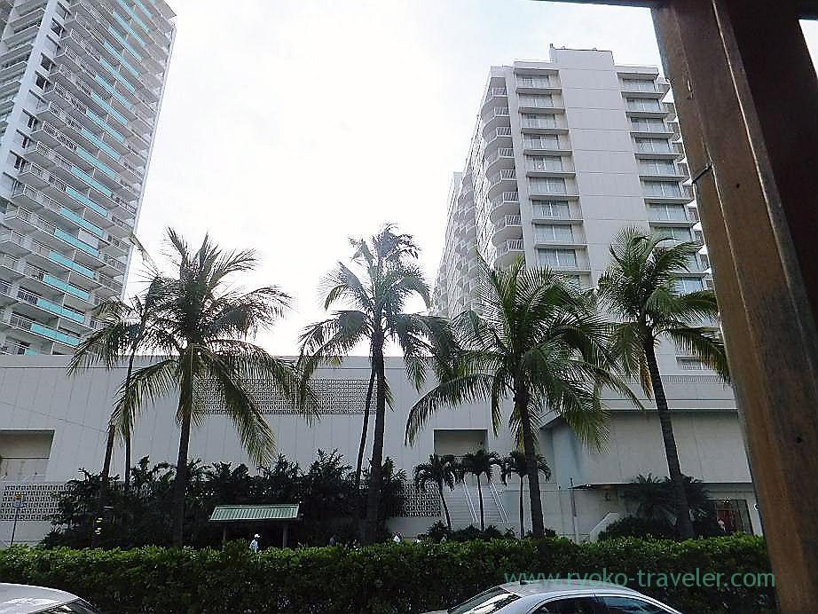 View from Trolley, Honolulu(Honolulu 2012 winter)